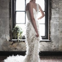 Are Fabulous Feathers The Best Wedding Dress Trend For 2014