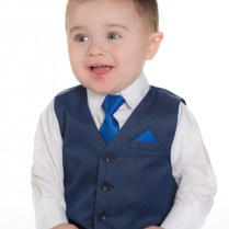 Baby Boy Navy Wedding Outfit