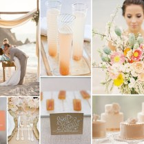 Beach Wedding Inspiraiton Shoot From Burnett's Boards