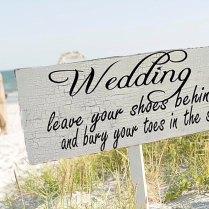 Beach Wedding Signs Wedding Decorations Arrow 24x8 By Familyattic
