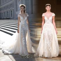 Berta Bridal 2016 Wedding Dresses With Detachable Overskirt