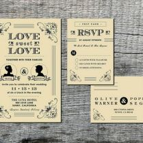 Best Vintage Wedding Invitation Template Design