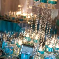 Blue Wedding Centerpieces, Tiffany Blue And Tiffany Blue Weddings