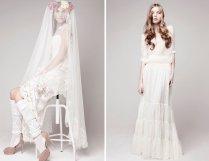 Bohemian Bridal Style Wedding Dress By Marie Laporte