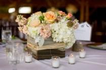 Box Wedding Centerpieces