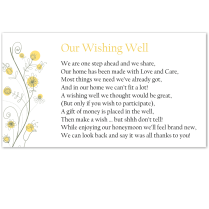 Budget Wedding Invitations Rsvp Wildflowers Gold