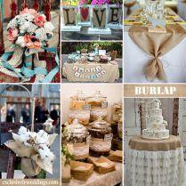 Burlap Wedding Decorations, Burlap Weddings And Burlap On Emasscraft Org