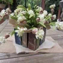 Burlap Wedding Squares Set Of 12 Table By Ajrusticcreations