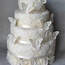Butterfly Wedding Cakes Images – Wedding Celebration Blog