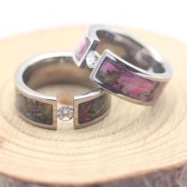 Camo Wedding Rings Unique Wedding Ring Inspiration — Wedding Ideas
