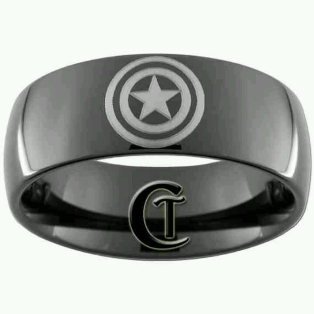 Captain America, Wedding Bands And America On Emasscraft Org