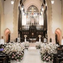 Church Wedding Aisle Decorations On Decorations With Wedding