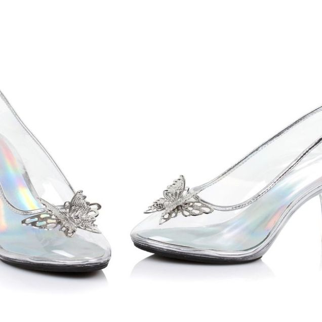 Slipper Stand Designs : Cinderella glass slipper wedding shoes