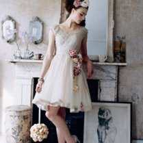 Collection Short Wedding Dresses Vintage Pictures