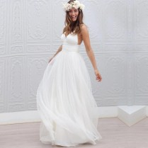 Compare Prices On V Neck Wedding Dresses