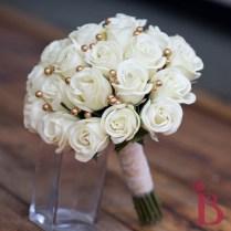 Cream Old Gold Vintage Bouquet Lg (more Colors)