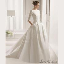 Custom Wedding Dress,contracted Classic Wedding Dress,backless