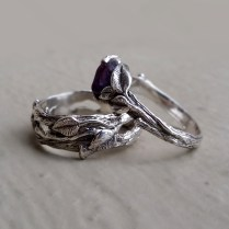 Dawn Vertrees Raw Uncut Rough Engagement Wedding Rings Raw Uncut