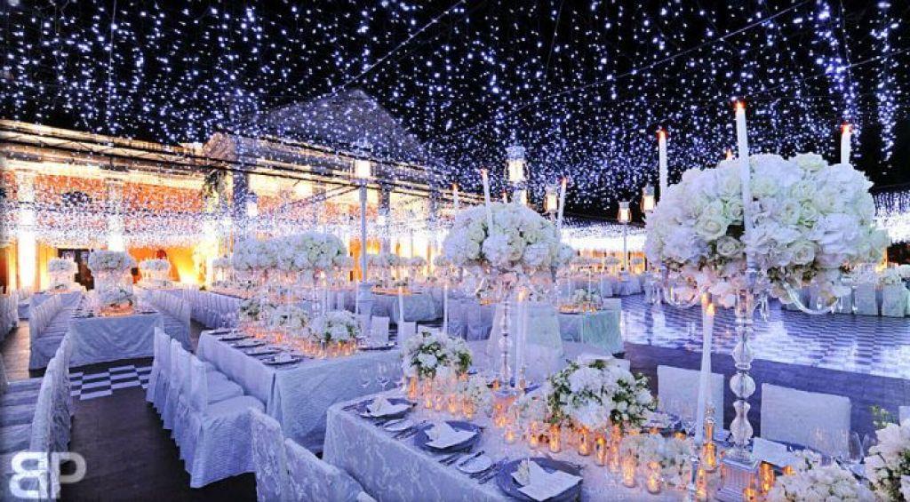 Decoration Winter Wedding Reception Decorations