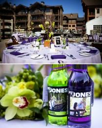 Devrin & Ryan's Lime Green And Purple Wedding