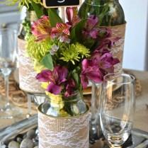 Diy Mason Jar Wedding Centerpieces