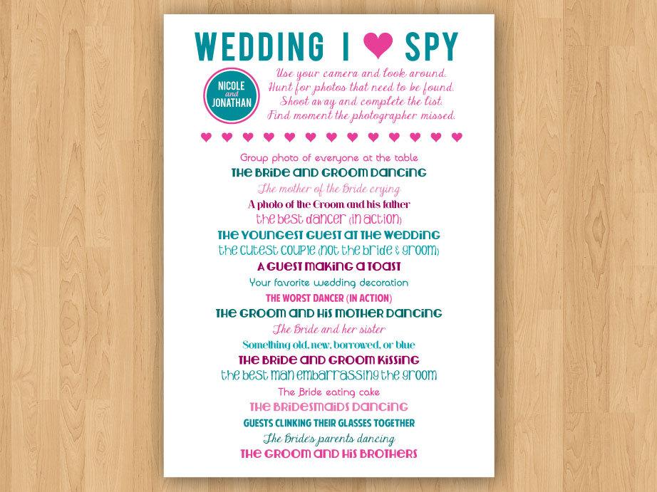 Wedding i spy diy printable wedding i spy by inkddesignstudio on etsy maxwellsz