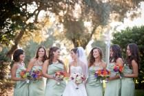 Elegant Green And Purple Wedding