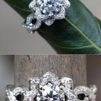 Ever Blooming Love Diamond Engagement Flower By Beautifulpetra