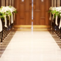 Feature Friday Ceremony Aisle Markers