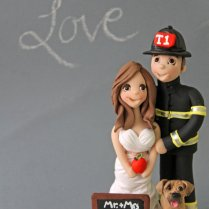 Firefighter Wedding Cakes, Firefighter Wedding And Firefighters On