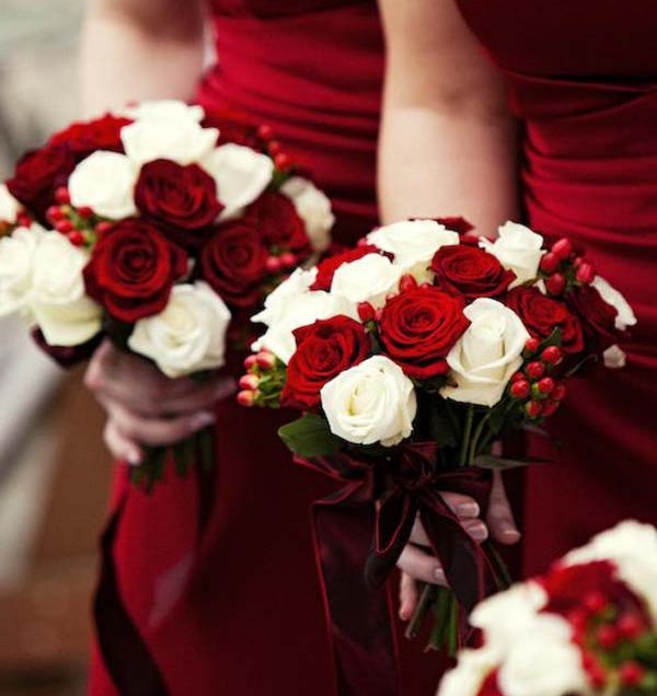 Flower Christmas Wedding Flowers Ideas