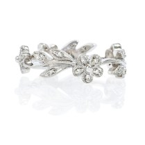 Flower Wedding Band On Wedding Flowers With Flower Band 2 22220