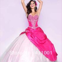 Fuschia Wedding Dresses