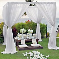 Garden Wedding Decoration Ideas On Decorations With Outdoor