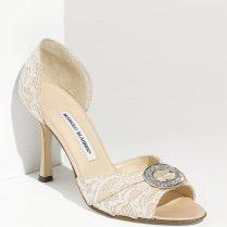 Goes Wedding » Fashionable Ivory Wedding Shoes In Beautiful