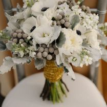 Grey Wedding Bouquets