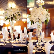 Grey Wedding Centerpieces Pictures