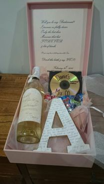 Hand Written, Custom Wine Labels And Ring Pops On Emasscraft Org