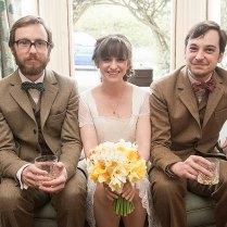 Handmade 3 Piece Tweed Wedding Suits
