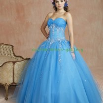 How About A Blue Wedding Dress This Time