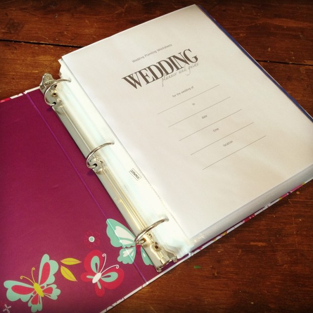 How To Make A Wedding Planning Binder Your Easy Step