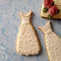 How To Make Wedding Dress Cookiessweetambs
