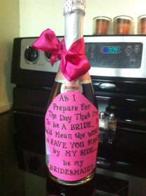 How To Propose To Your Bridesmaids!