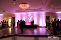 Ideal Media Dj, Lighting & Drape, Wedding Ceremony Music, Wedding