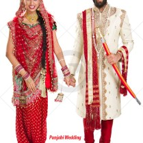 Indian Bride Groom Couple Theme Dress Online Indian Bridal Dress