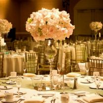Inspiration Needed Red Rose Alluring Wedding Reception Centerpiece