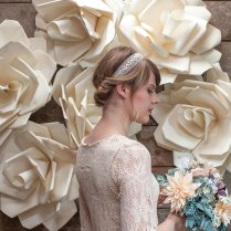 Jumbo Paper Flower Wedding Backdrop Video