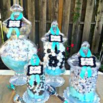 Kara's Party Ideas Rustic, Black, White, & Tiffany Blue Wedding