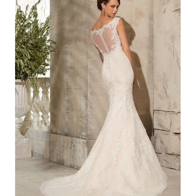 Lace Fishtail Wedding Dresses
