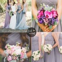Lilac Gray Wedding Theme { Pantone Spring 2016 }